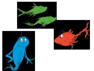 Dr Seuss Fish Clip Art Clipart Panda Free Clipart Images