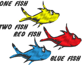 The gallery for --> One Fish Two Fish Clipart