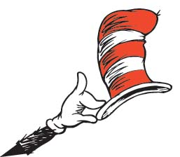 dr seuss cat hat clip art Quotes