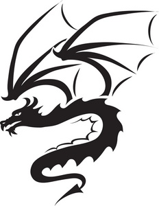 dragon clipart black and white clipart panda free clipart images rh clipartpanda com dragon fruit clipart black and white dragon fruit clipart black and white