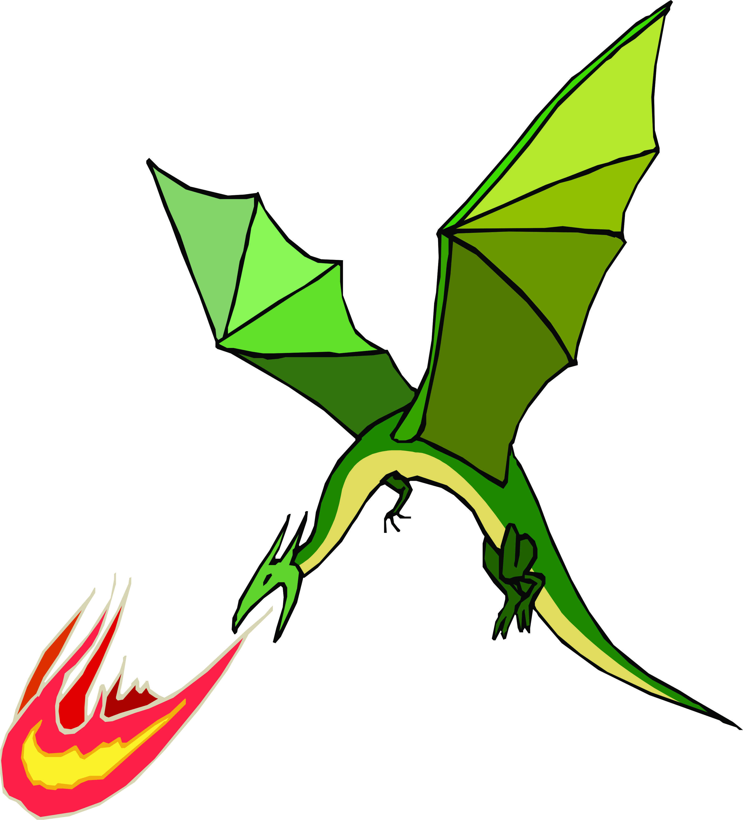 Pictures of Cartoon Dragons Breathing Fire Dragon Breathing Fire