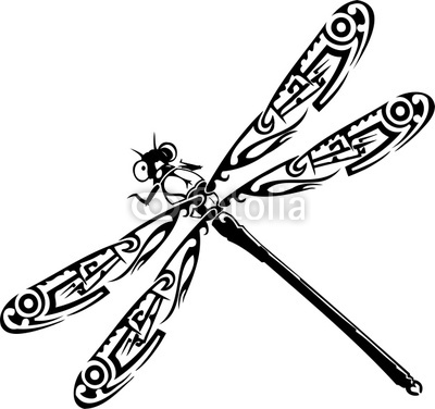 Free Dragonfly Clipart Black And White Dragonfly Black And White