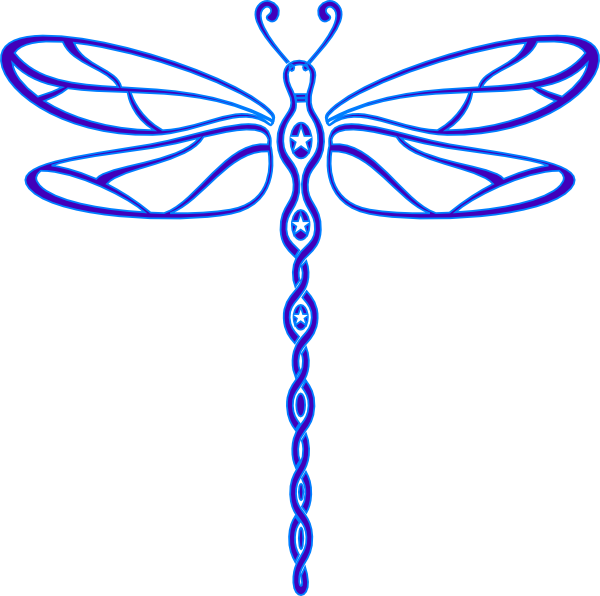 Dragonfly Outline Clipart | Clipart Panda - Free Clipart ...
