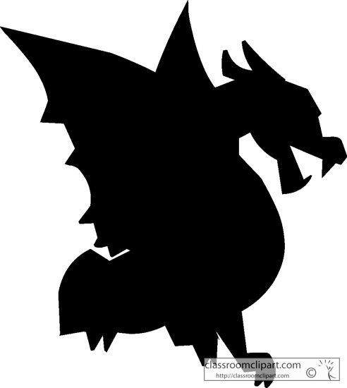 how to train your dragon silhouette