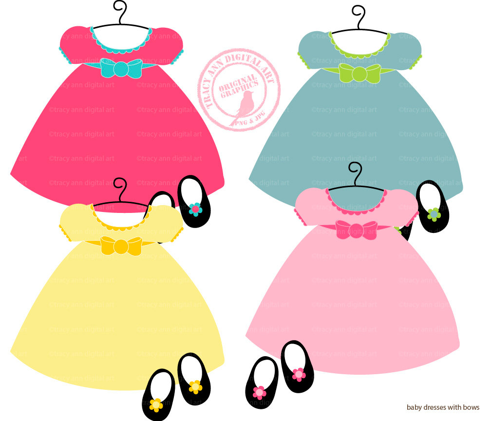 Pink Baby Dress Clipart | Clipart Panda - Free Clipart Images