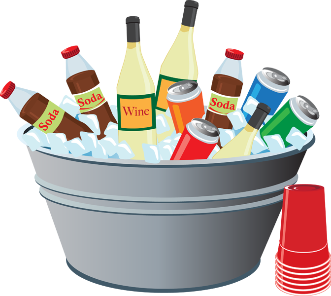 clipart drinks picnic drink clip summer clipartpanda tub terms