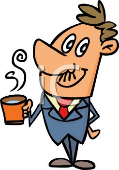 People Drinking Coffee Clipart   Clipart Panda - Free ...