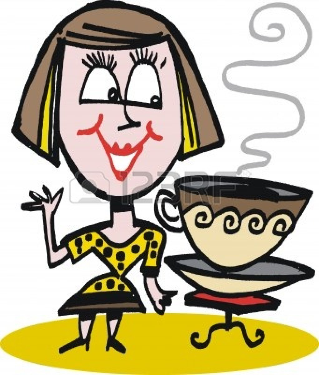 drinking coffee images 10045536 cartoon of woman drinking coffee.jpg