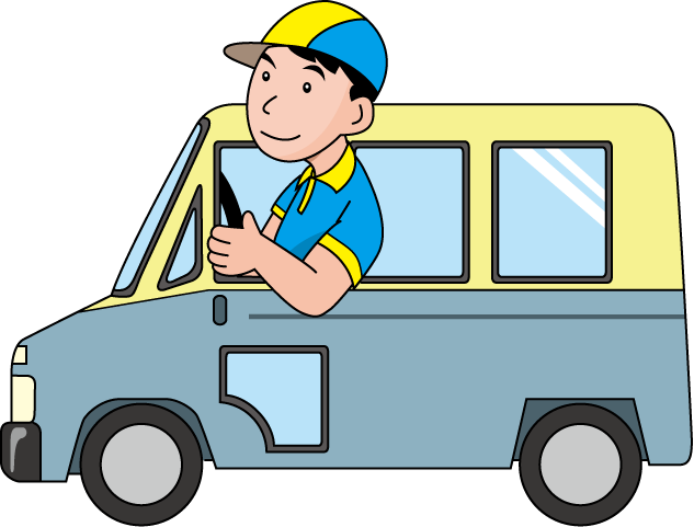 delivery driver clipart | clipart panda - free clipart images