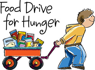 Image result for clip art of food drive