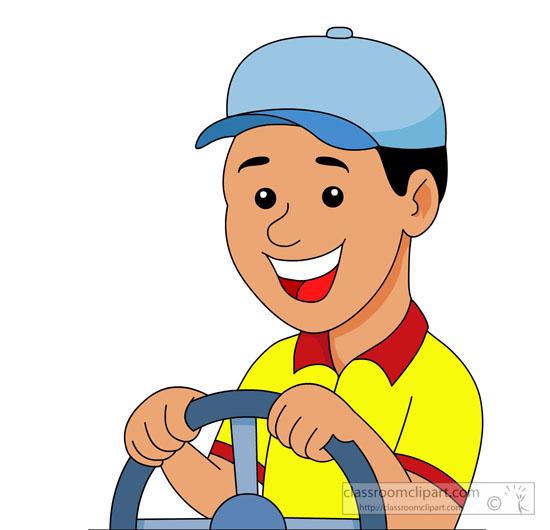 Free Clipart School Bus Driver