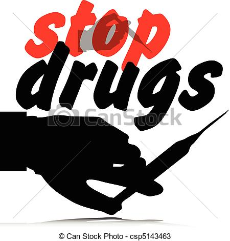 stop drugs illustration | Clipart Panda - Free Clipart Images