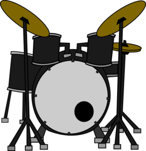 drum set clip art vector clipart panda free clipart images rh clipartpanda com drum set clipart black and white