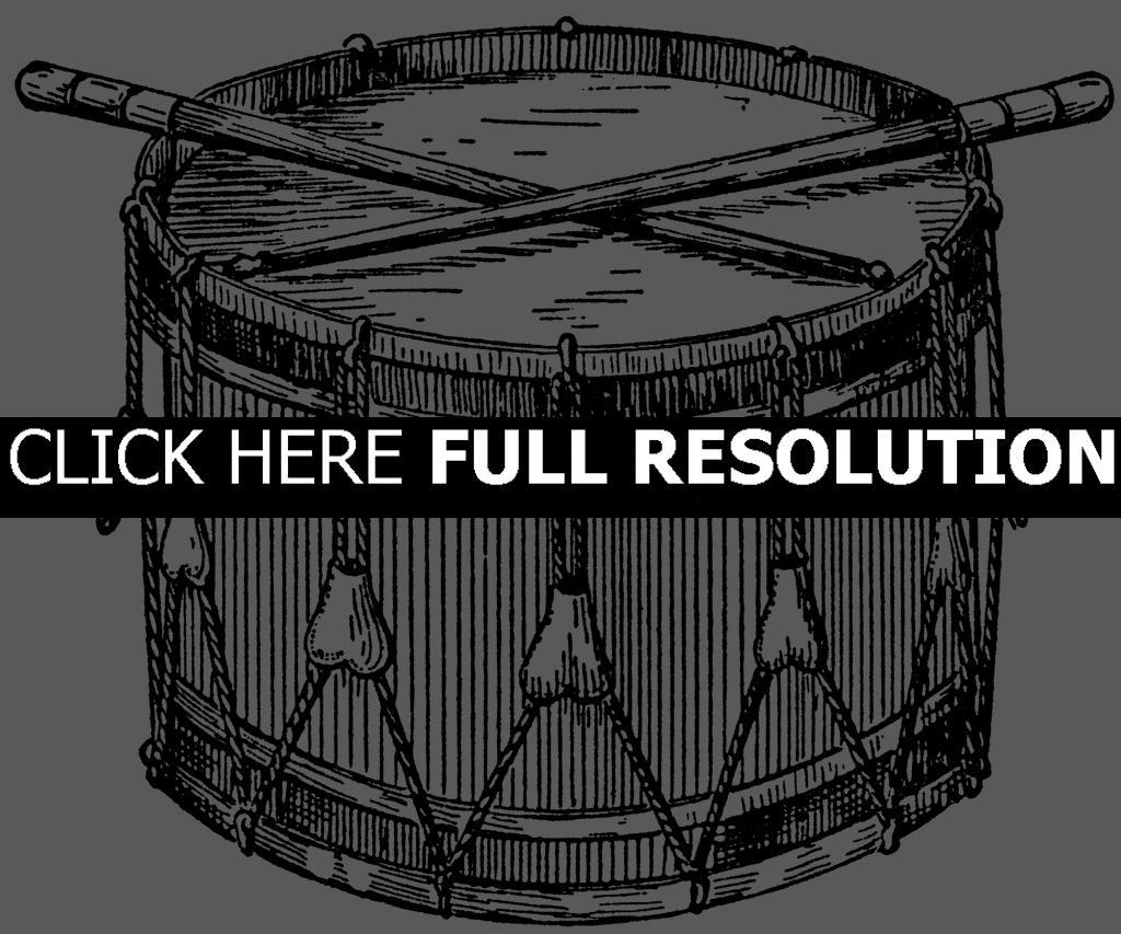 Drum Clip Art Free
