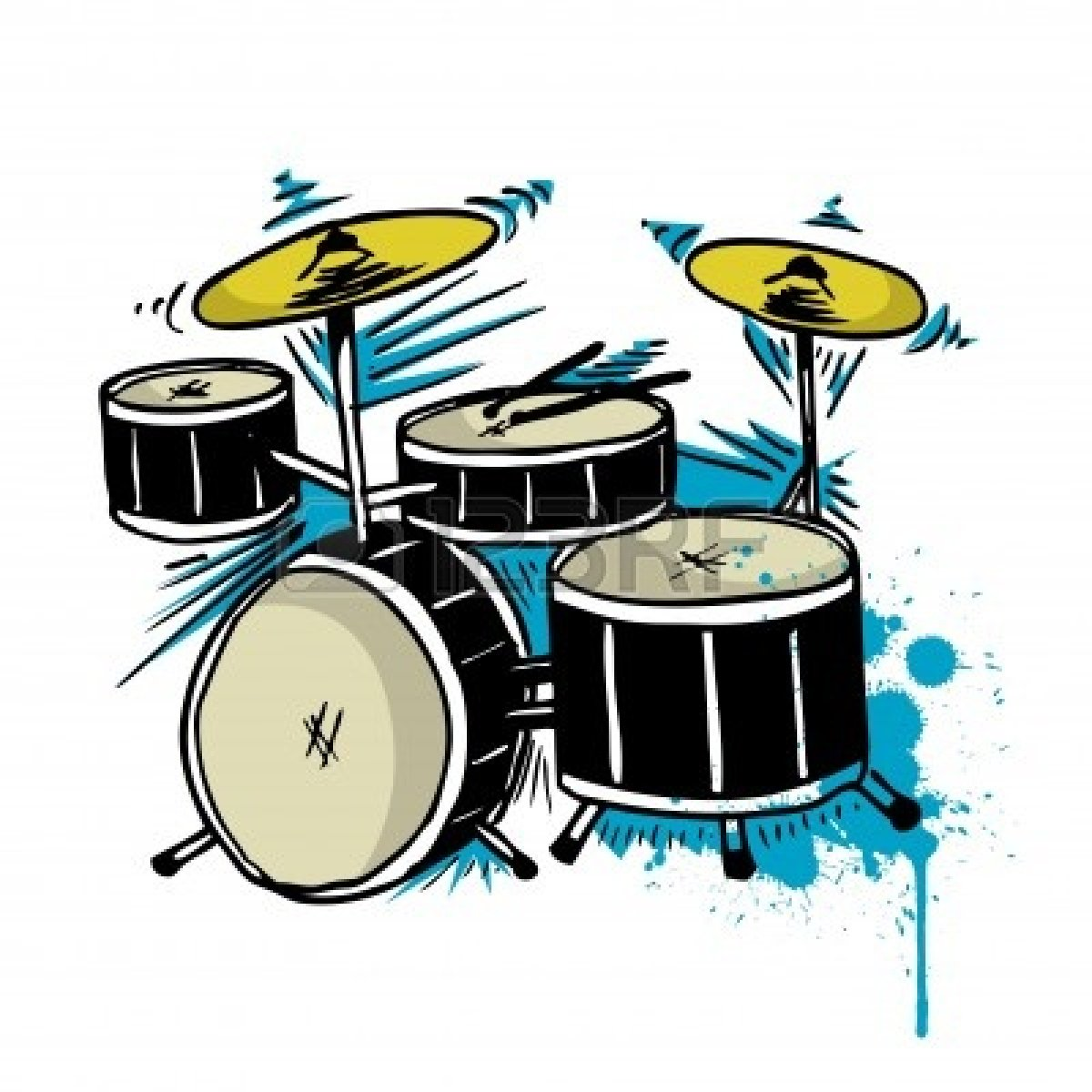 cartoon drum set clip art MEMEs