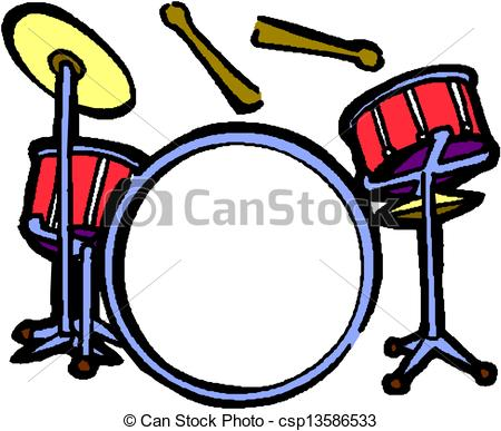 Drum Set Drawing Clipart Panda Free Clipart Images
