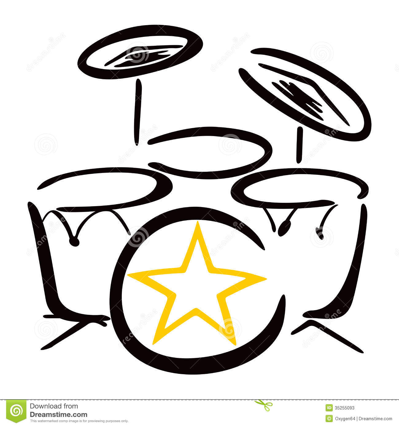 drum-set-silhouette-set-drummer-drum-kit-drawing-white-background ... White Drum Set Silhouette