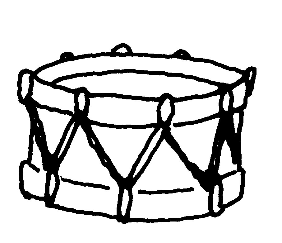Line Drawing Of Xylophone : Music instrument clipart panda free images