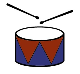 drums clip art free clipart panda free clipart images rh clipartpanda com clip art drummer boy-4th of july clip art drum sticks