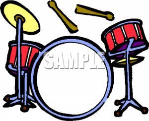 """Drum Set - Clipart. """"   Clipart Panda - Free Clipart Images"""