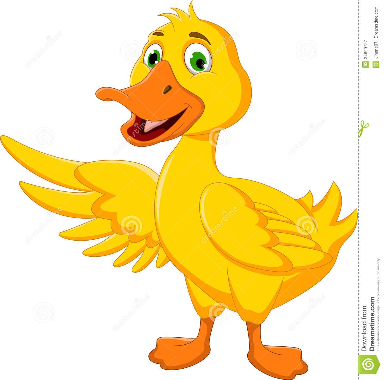 Duck Clip Art Black An...