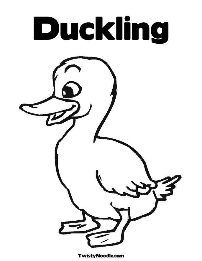 Duckling Coloring Page Fabulous Duckling Learn To Fly Coloring