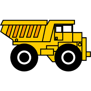 dump truck clipart black and white clipart panda free Semi Truck Outline Semi Truck Wallpaper
