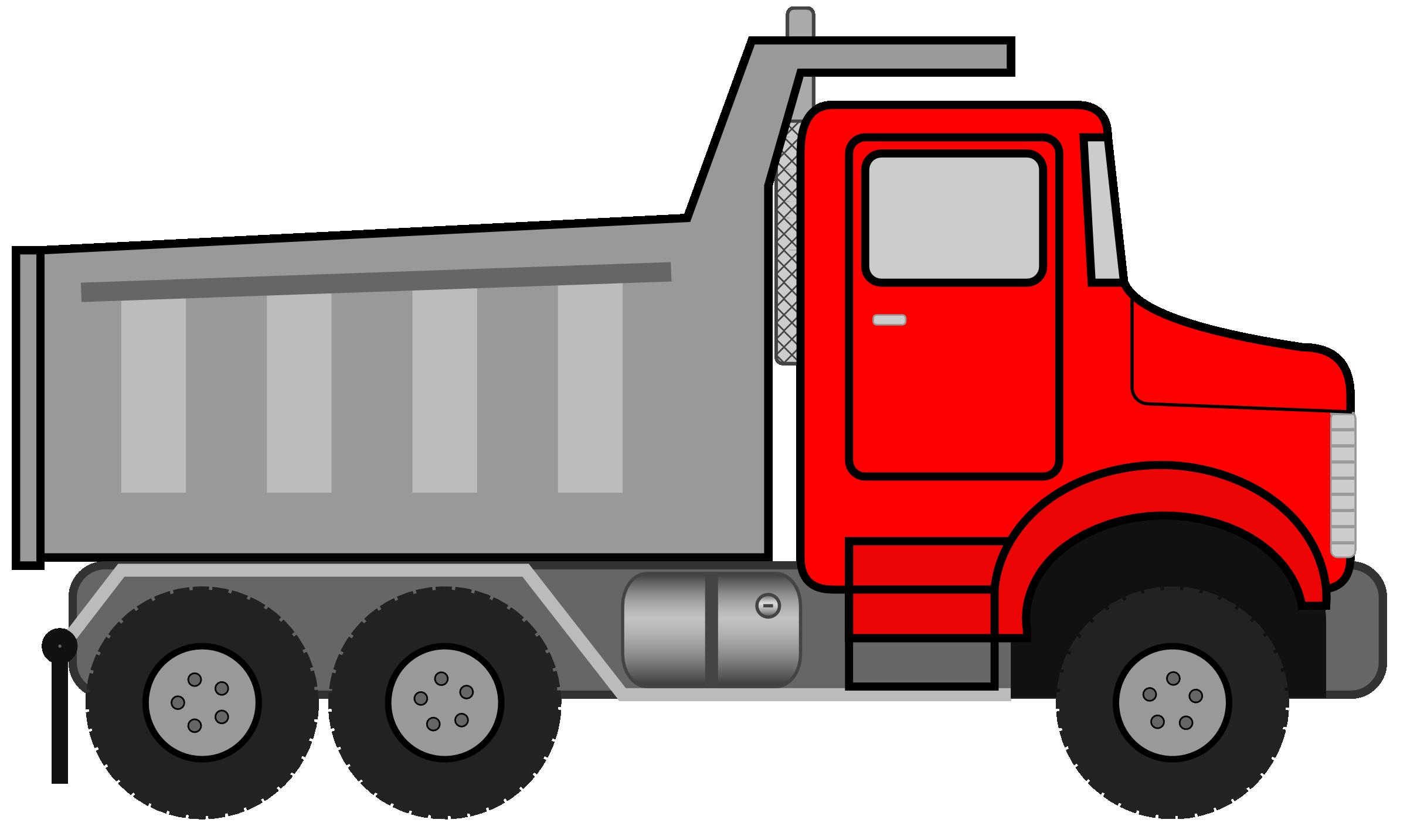 Clip Art Dump Truck Clipart dump truck clipart black and white panda free clipart