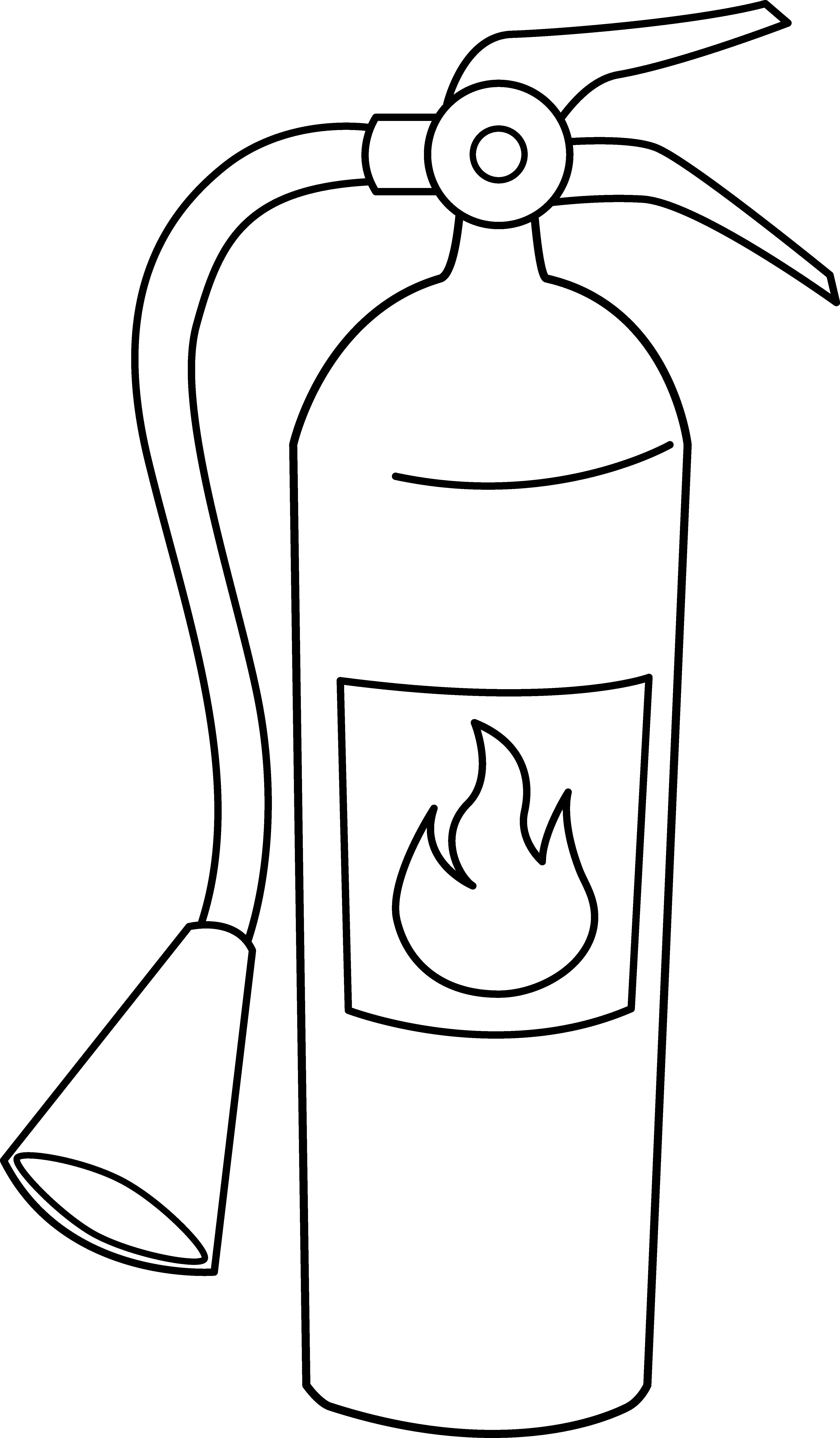 Line Drawing Website : Fire symbol black and white clipart panda free