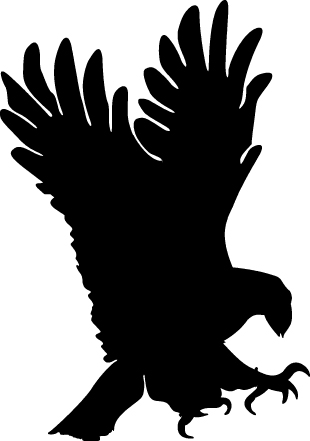 eagle%20flying%20clipart%20black%20and%20white