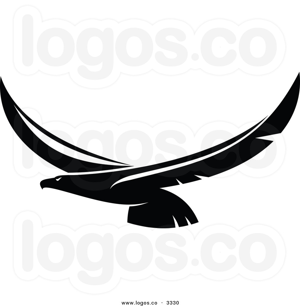 Eagle Flying Clipart Black And White Clipart Panda