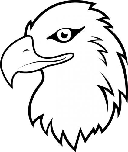 Eagle Head Clipart Black And White | Clipart Panda - Free ...