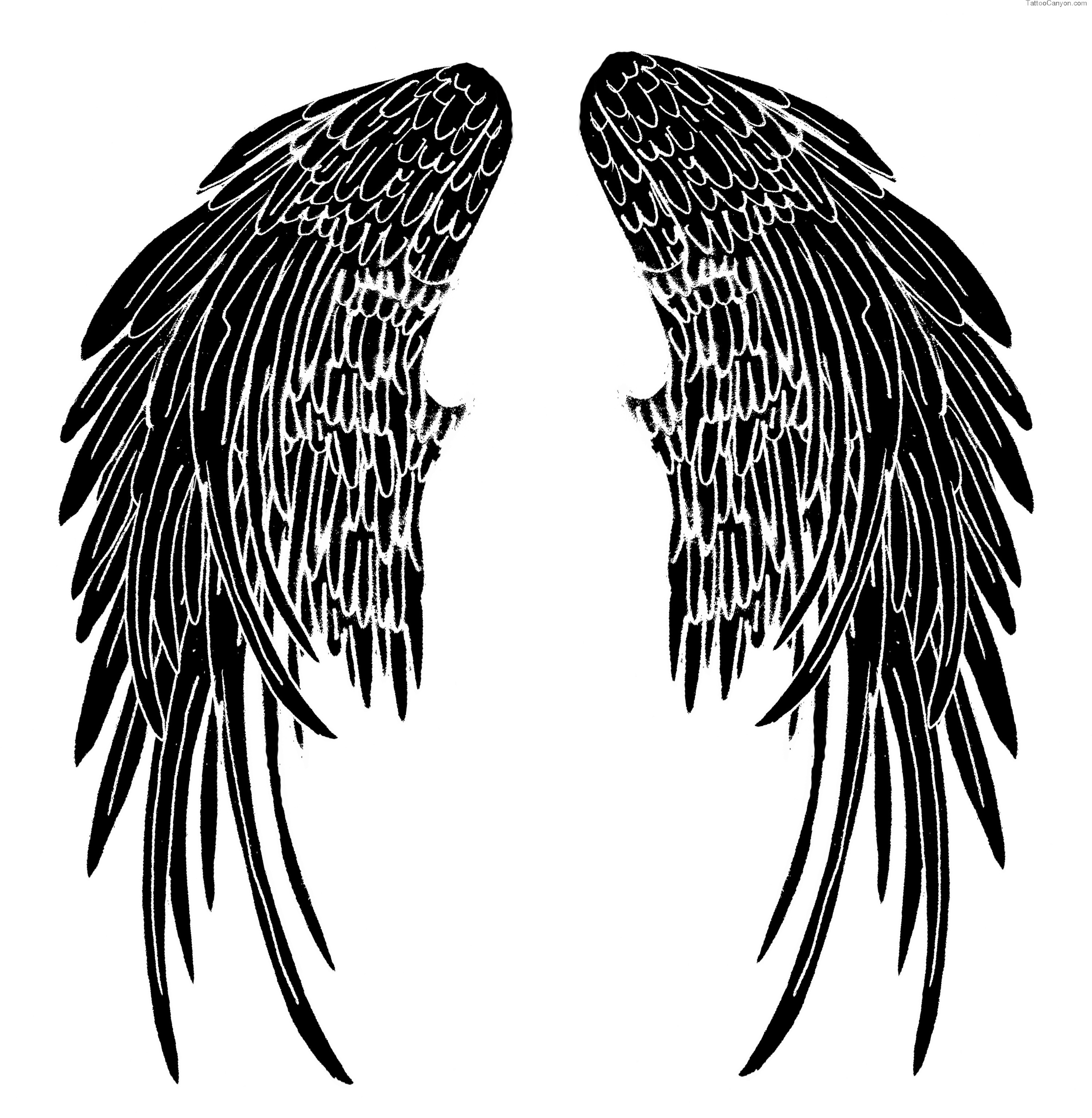 Eagle wings design clipart panda free clipart images for Eagle wings tattoo