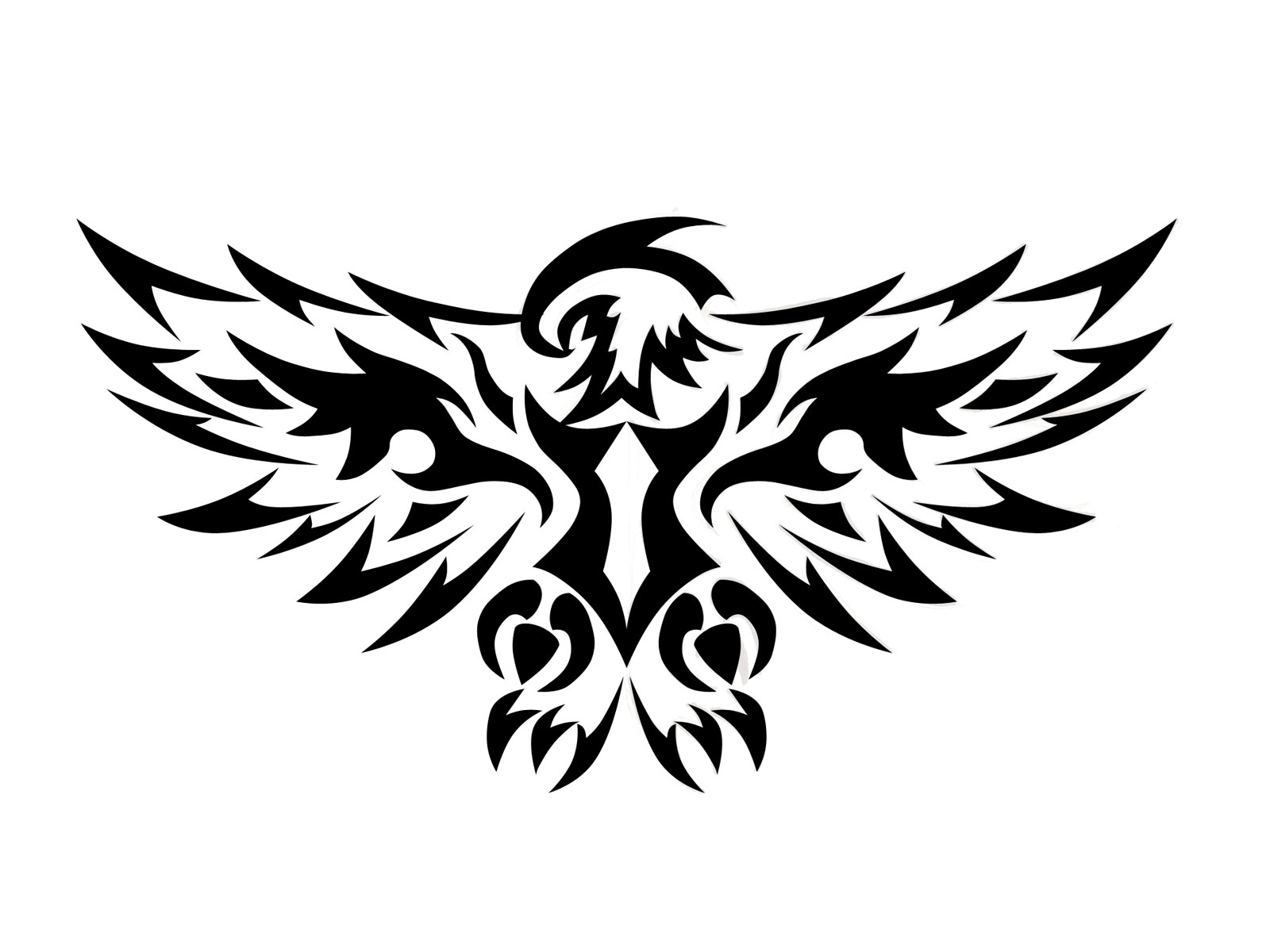 Free Cross With Wings Tattoo Designs