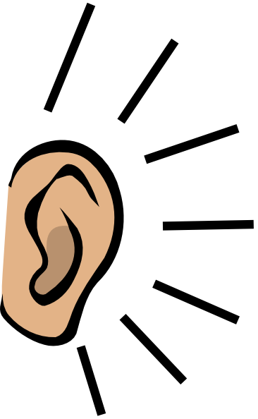 Free Clipart Listening Ears