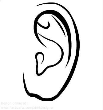 Clip Art Clipart Ear ear clip art free clipart panda images