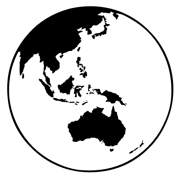 Drawing Lines In Crystal Reports : Globe clipart black and white panda free