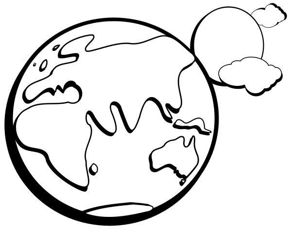 earth w sun clip art bw clipart panda free clipart images rh clipartpanda com happy earth clipart black and white earth clipart black and white vector
