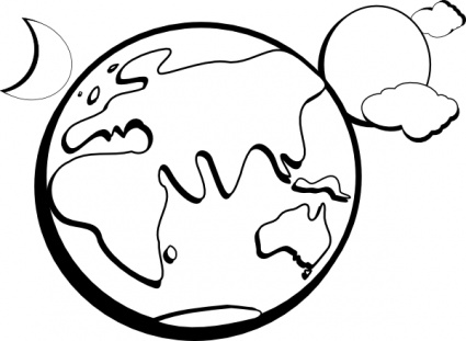 earth%20science%20clipart%20black%20and%20white