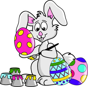 Easter Bunny Clip Art Black And White | Clipart Panda ...