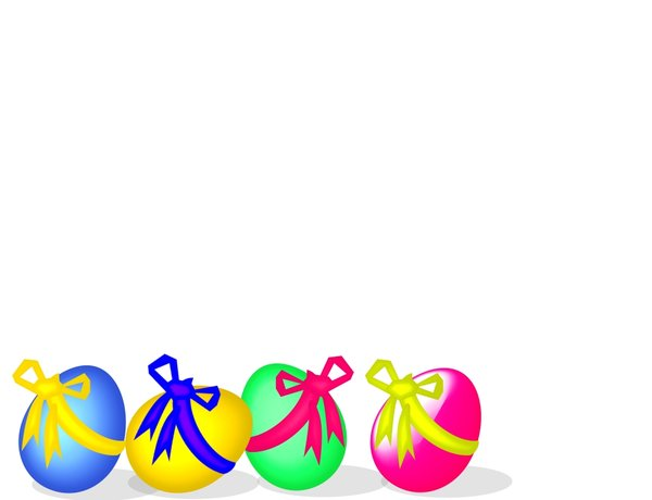 Easter Egg Border Clipart | Clipart Panda - Free Clipart Images