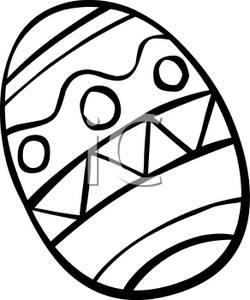 Easter Egg Basket Clipart Black And White