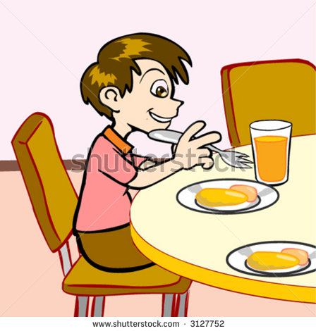 2014 ClipartPanda com About TermsKids Eating Breakfast At School Clipart
