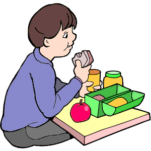 Image result for alone breakfast clipart