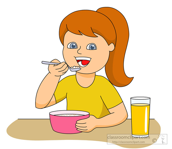 To eat clip art