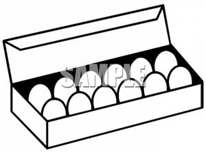 egg%20carton%20clipart%20black%20and%20white