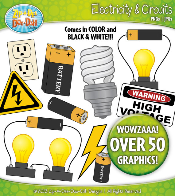 Electricity and Circuits Clip | Clipart Panda - Free ...