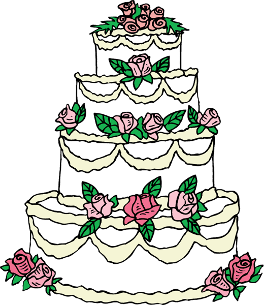 Wedding Cake Images Cartoon : wedding-cake-clip-art.png Clipart Panda - Free Clipart ...