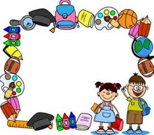 Elementary School Clipart Border | Clipart Panda - Free ...