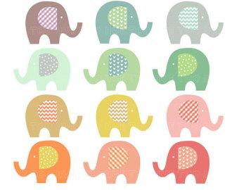 Baby Shower Elephant Clip Art | Clipart Panda - Free Clipart Images